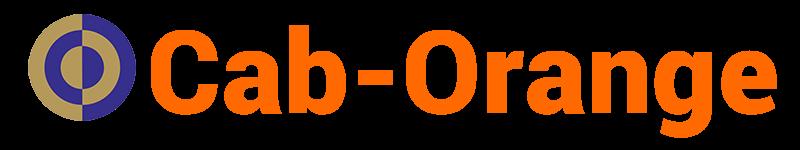 Taxi Cab-Orange